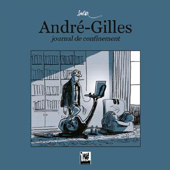 pochette André-Gilles, journal de confinement - Aurel