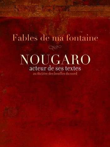 pochette CLAUDE NOUGARO - Fables de ma fontaine (RUPTURE) - Ils sont passés chez nous...