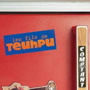 pochette Comptant - Fils de Teuhpu (les)