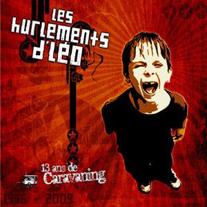 pochette 13 ans de caravaning - Hurlements d'Léo (les)
