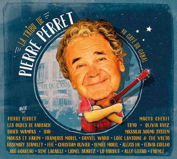 pochette Au café du canal - La Tribu de Pierre Perret