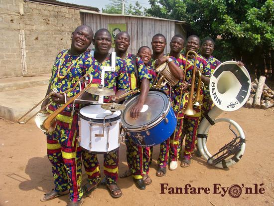 voir la fiche artiste La fanfare Eyo'Nlé