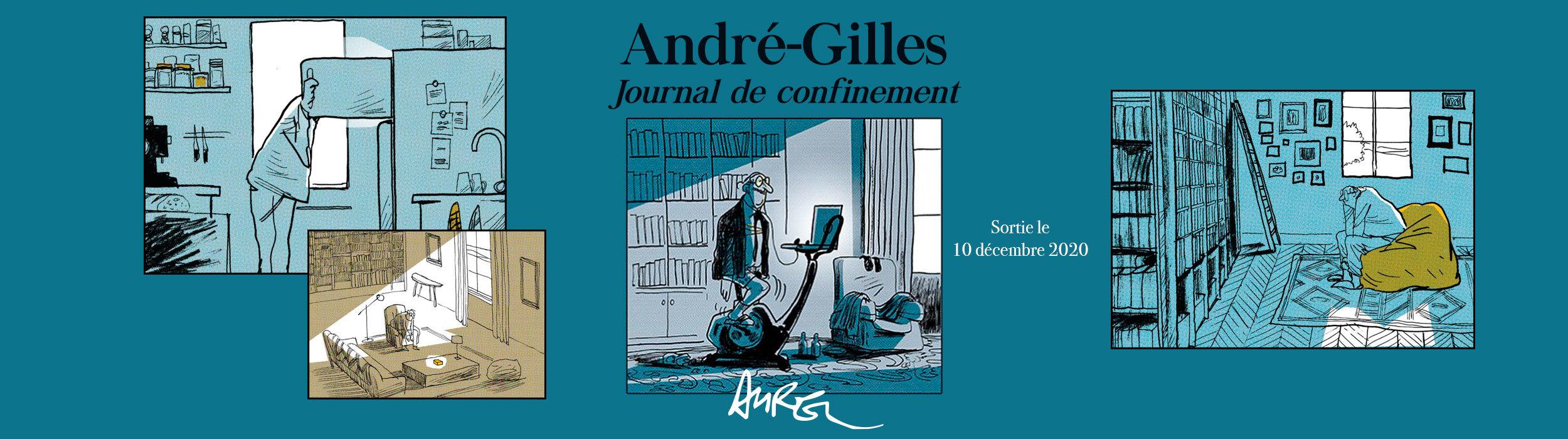 André-Gilles, journal de confinement